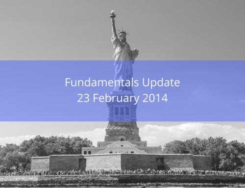 Fundamentals Update: US Budget Update